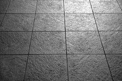Telhas em preto e branco Imagem de Stock Royalty Free