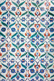 Telhas feitos a mão do ornamento islâmico antigo Imagens de Stock Royalty Free