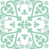 Telhas florais velhas Imagens de Stock