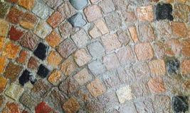 Telhas na rua Imagens de Stock