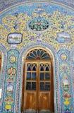 Telhas persas fotografia de stock