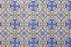 Telhas portuguesas Fotografia de Stock Royalty Free