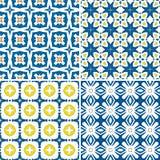 Telhas portuguesas Imagens de Stock Royalty Free