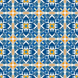 Telhas portuguesas Imagem de Stock Royalty Free