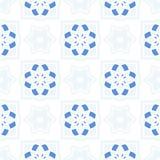 Telhas portuguesas do azulejo Testes padrões sem emenda Imagens de Stock Royalty Free