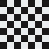 Telhas preto e branco sem emenda do vetor Imagem de Stock