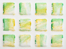 Telhas quadradas Fotografia de Stock