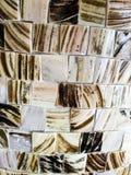 Telhas quadradas de mármore pequenas fotografia de stock royalty free