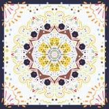 Telhas sem emenda do marroquino da textura Fotografia de Stock Royalty Free
