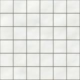 Telhas sem emenda do quadrado branco ilustração stock