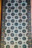 Telhas turcas feitos a mão do tempo antigo do otomano Foto de Stock