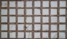Telhas velhas da parede Fotografia de Stock