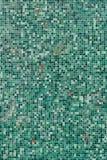 Telhas verdes Fotos de Stock