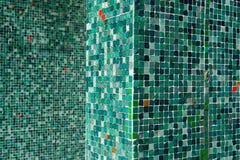 Telhas verdes Imagens de Stock Royalty Free