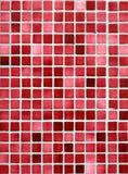 Telhas vermelhas e cor-de-rosa. Imagens de Stock