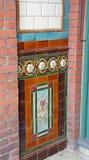 Telhas vitorianos da parede Fotografia de Stock Royalty Free