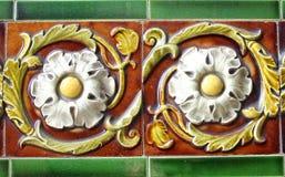 Telhas vitorianos da parede Imagem de Stock