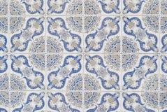 Telhas vitrificadas portuguesas 066 Foto de Stock Royalty Free