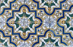 Telhas vitrificadas portuguesas 077 Foto de Stock Royalty Free