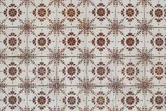 Telhas vitrificadas portuguesas 081 Foto de Stock Royalty Free
