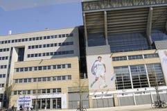 TELIA PARKEN FÖR STADION FÖR SPORT FÖR DANMARK ` S NAIONAL Arkivfoto
