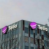 Telia Sverige ab stock afbeeldingen