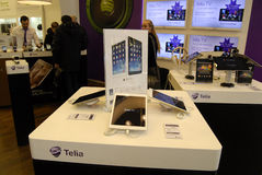 TELIA AND TELENOR HAS DECIDED TO MERGE ONE Stock Photography