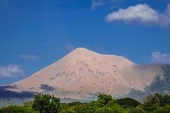 Telica volcano view, Leon in Nicaragua Royalty Free Stock Photos