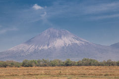 Telica volcano view from Nicaragua Stock Image