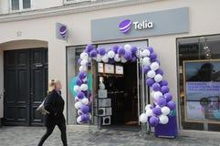 Telio svedese dell'internet provider Fotografia Stock