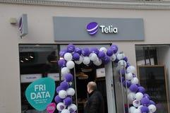 Telio svedese dell'internet provider Fotografie Stock Libere da Diritti