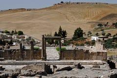 The Tell Gate, Dougga, Tunisia Royalty Free Stock Photography
