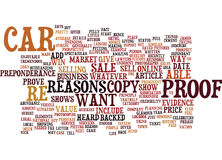 Tell Me The Reasons Why I Should Believe You Text Background  Word Cloud Concept Stock Images