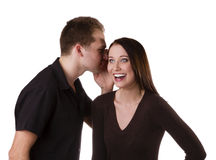Tell me a secret! Stock Photography