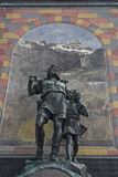 Tell monument in Altdorf Royalty Free Stock Image