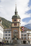 Tell monument in Altdorf Royalty Free Stock Photos
