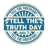 Tell the Truth Day,  July 7 Royalty Free Stock Photography