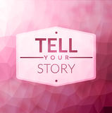 Tell your story Royalty Free Stock Photo