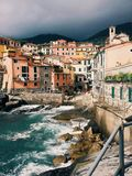 Tellaro. Fall in love with Tellaro, Liguria Stock Photos