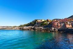 Tellaro - Golfo dei Poeti - Liguria Italien Royaltyfria Foton