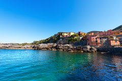 Tellaro - Golfo dei Poeti - Liguria Italy Royalty Free Stock Photos