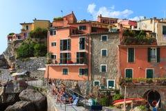 Tellaro, old small village in Italy Royalty Free Stock Photos