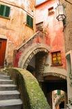 Tellaro Italy - Caruggio Stock Image