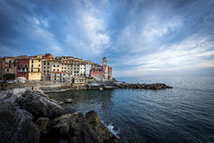 Tellaro. Little picturesque village in Liguria royalty free stock images