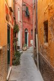 Tellaro, old small village in Italy Royalty Free Stock Photography