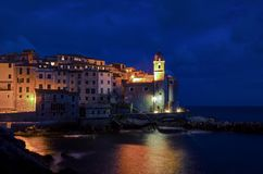 Tellaro. A small sea village in Liguria, Italy Royalty Free Stock Image