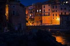Tellaro. A small sea village in Liguria, Italy Stock Image