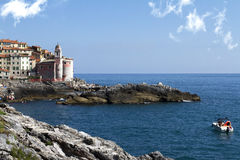 Tellaro. Town of tellaro in Liguria near La Spezia Royalty Free Stock Photos