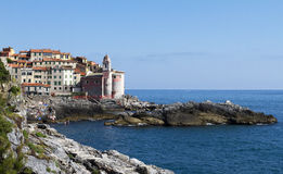Tellaro. Town of tellaro in Liguria near La Spezia Royalty Free Stock Image
