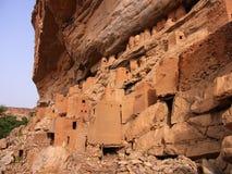 Tellem architecture mali. Tellem architecture in dogon, mali Royalty Free Stock Image